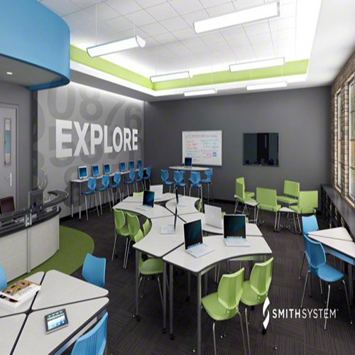 Classroom Design Companies : Stem lab environments lowery mcdonnell company